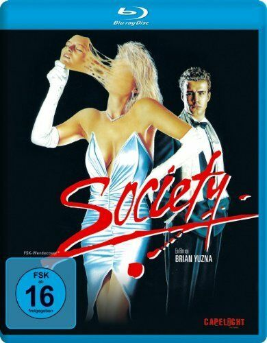 Society (Blu-Ray) Billy Warlock, Devin DeVasquez, Brian Yuzna NEW and SEALED