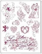 Stempel Brautpaar
