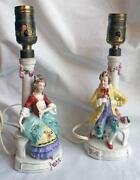 Victorian Figurine Lamp