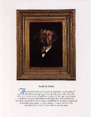 Rhodesian Ridgeback - Vintage Dog Art Print - Poncelet