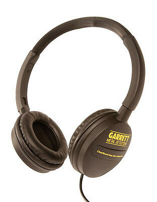 GARRETT METAL DETECTOR CLEAR SOUND easy stow Headphones  Fast Free Shipping