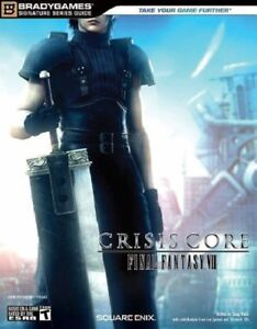 Final Fantasy VII Crisis Core PSP Strategy Guide