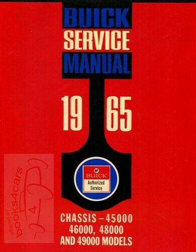 1965 Buick Riviera Body Manual 65 Repair Shop Service Book