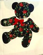 Christmas Fabric Bears