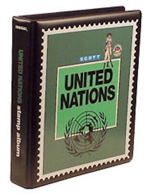 New Scott United Nations UN Minuteman 2-Post Binder Stamp Album