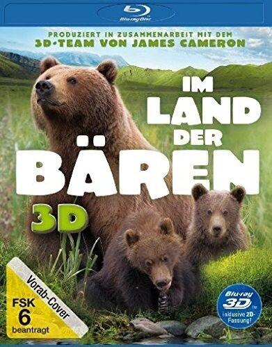 IM LAND DER BÄREN 3D/2D BD  BLU-RAY NEU