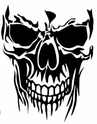 SKULL Vinyl Decal -Sticker for Car Truck motorcycle Bumper Wall Window Laptop Decal Stickers For Cars