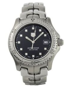 TAG Heuer Link- Mens- With Diamonds- Awesome- Look!!