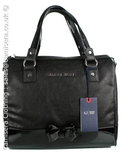 88b320a6ba84 Armani Patent Bag