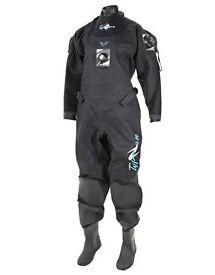 Women's Scuba Drysuit 'Typhoon Concept' -size S/M - bought August 2016, only had 10 dives
