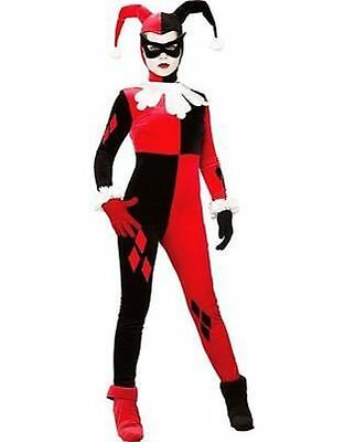 Rubies Harley Quinn Batman Arkham Asylum Bösewicht Erwachsene Halloween Kostüm