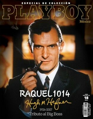 Playboy Mexico Tribute To Hugh Hefner November  2017 Playboy Mexican Ed Ne