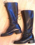 Ladies Clarks Black Boots Size 5