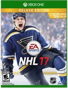 NHL 17 Xbox one MINT condition deluxe edition !