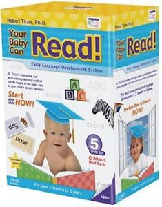 Brand New sealed Your Baby Can Read / Early Learning DVD Set. RRP £80