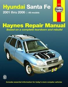 Hyundai Santa Fe Repair Book