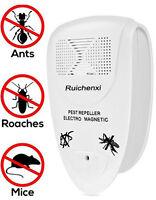 Unità Ultra Sonic Electro Magnetic Pest Control Repeller Spina Per I Roditori - sonic - ebay.it