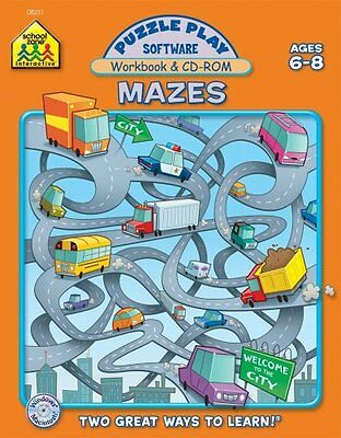 Puzzle Play Mazes Software - Mazes: Puzzle Play Software, Ages 6-8 by Jennifer Neumann