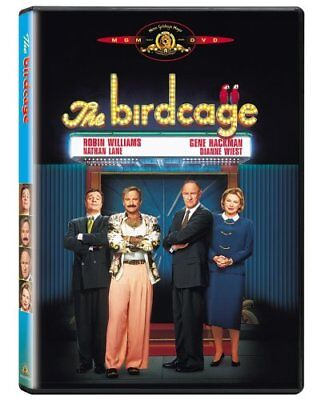 NEW The Birdcage DVD 1996 Standard AND WIDESCREEN BIRD CAGE MOVIE Robin Williams