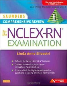 Saunders nclex books ebay saunders comprehensive review for the nclex rn fandeluxe Gallery