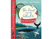 4 Sticker Books for Children by Julia Donaldson --- BRAND NEW