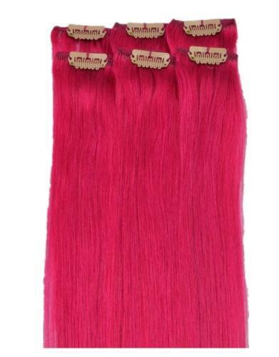 Pink hair extensions ebay pmusecretfo Image collections