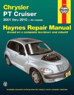 Haynes 25035 Repair Manual  fits Chrysler PT Cruiser 2001 - 2010