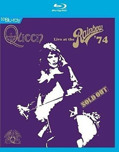 QUEEN - LIVE AT THE RAINBOW '74  BLU-RAY NEU