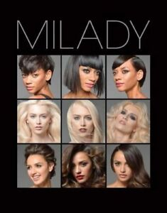 ISO Milady Hair Styling 13th Edition. (Black)