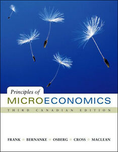 PRINCIPLES OF MICROECONOMICS 3/e Frank, Bernanke, Osberg, Cross
