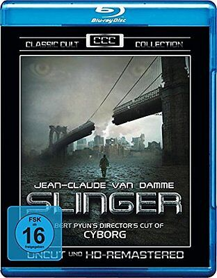 SLINGER Jean-Claude Van Damme Albert Pyun's Director's Cut of Cyborg BLU-RAY NEW