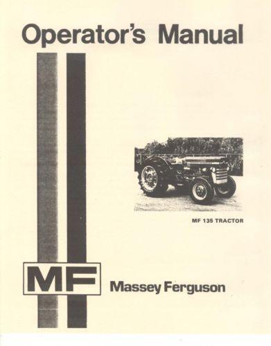 Massey ferguson 231 owners manual.