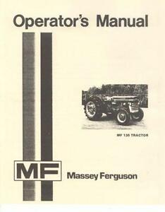 massey ferguson 50 service manual pdf