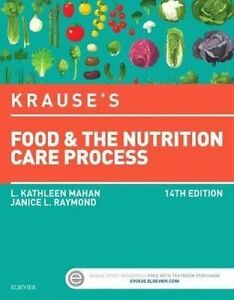 Krause's Food & the Nutrition Care Process 14E (2016) by Raymond and Mahan
