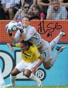 Hope Solo Signed