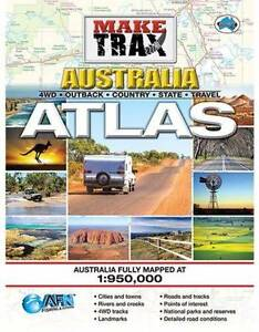 Make Trax Australia Atlas - 4WD Maps, Australian Fully Mapped a Banora Point Tweed Heads Area Preview