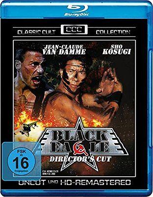 Black Eagle Jean-Claude Van Damme Sho Kosugi IMPORT Blu-Ray NEW Free Ship