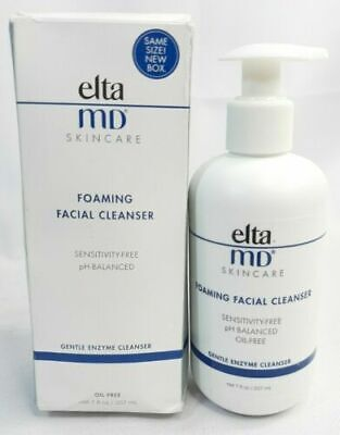 EltaMD ELTA MD Foaming Facial Cleanser 7oz / 207ml Brand New in Box Exp: 1/2024