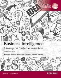 Business Intelligence: A Managerial Perspective on Analytics by Efraim Turban, D