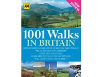 AA 1001 Walks in Britain £5 by the Automobile Association