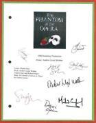 Phantom Opera Signed