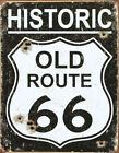 Route 66 Metal Home Décor Wall Plaques