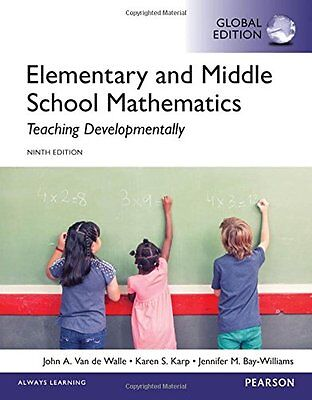 Elementary and Middle School Mathematics, 9E by Karen S. Karp (GLOBAL EDITION)