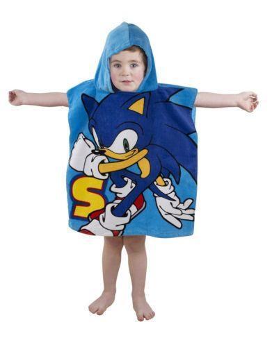 Boys Poncho Towel Ebay