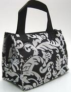 Damask Insulated Lunch Bag