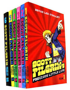 Scott-Pilgrim-6-Books-Collection-Set-Bryan-Lee-OMalley