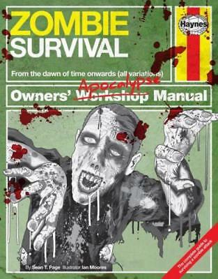 Haynes Zombie Survival Manual Complete Guide To Surviving A Zombie Attack H5473