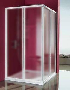 Box doccia angolare acrilico opaco 70x70 75x75 80x80 85x85 for Box doccia angolare 90x90
