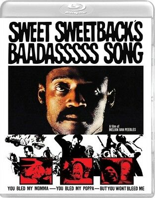 Sweet Sweetback's Baadasssss Song [New Blu-ray] With DVD, Widescreen, 2 Pack