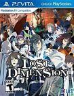 Lost Dimension Video Games